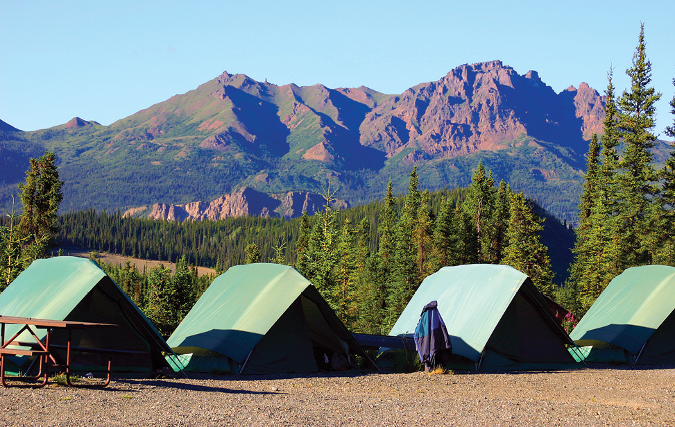 RV u0026 Tent Sites & Denali National Park Resort u0026 Lodging in Alaska | Denali Grizzly ...